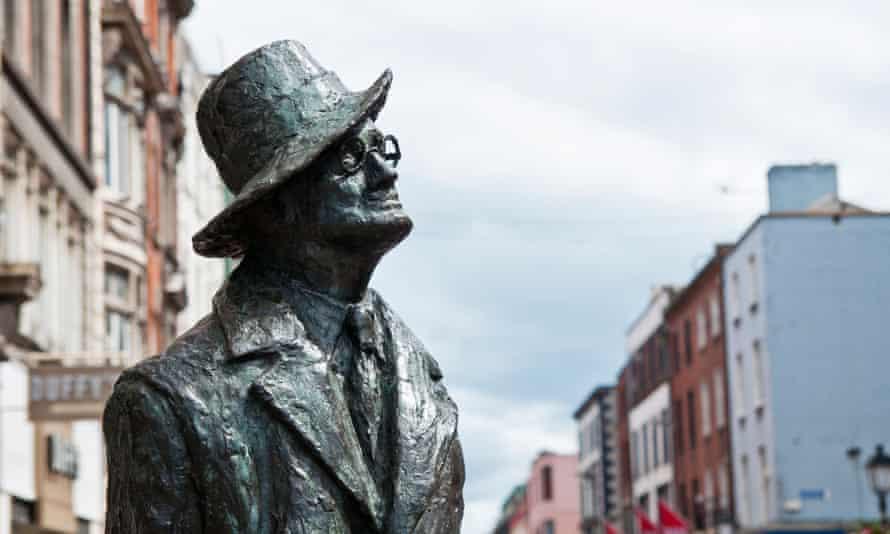 James Joyce statue Dublin
