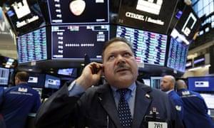John Santiago at the New York Stock Exchange
