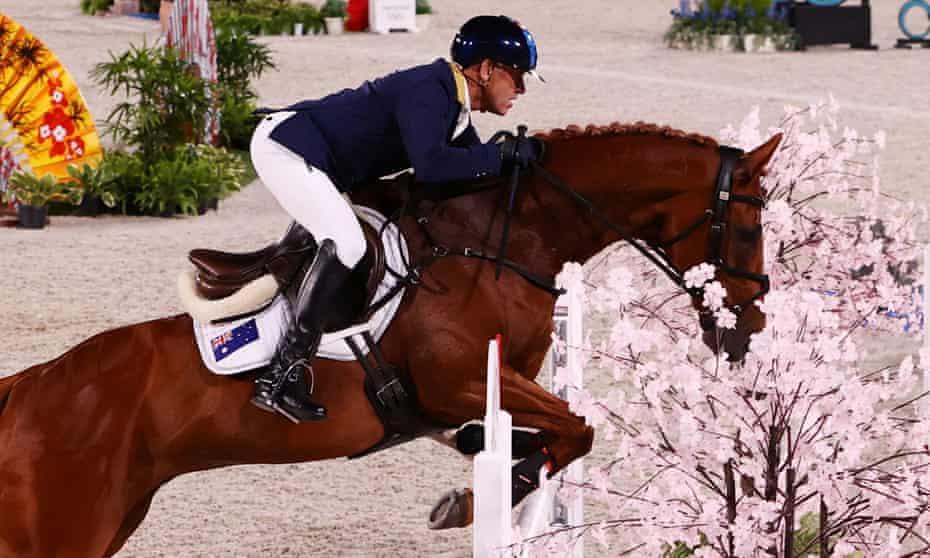 Andrew Hoy won silver on his horse Vassily De Lassos
