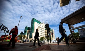 MI6 headquarters in central London