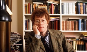 Roger Scruton in 1989. He was often outrageously reactionary and this led to him being ostracised by the 'leftwing establishment'.