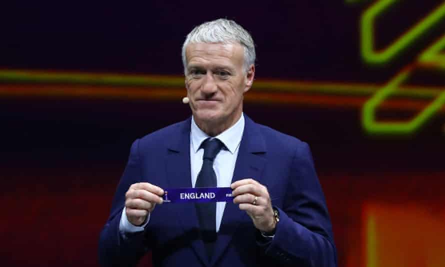 Didier Deschamps picks out England at the 2019 Women's World Cup draw in Paris