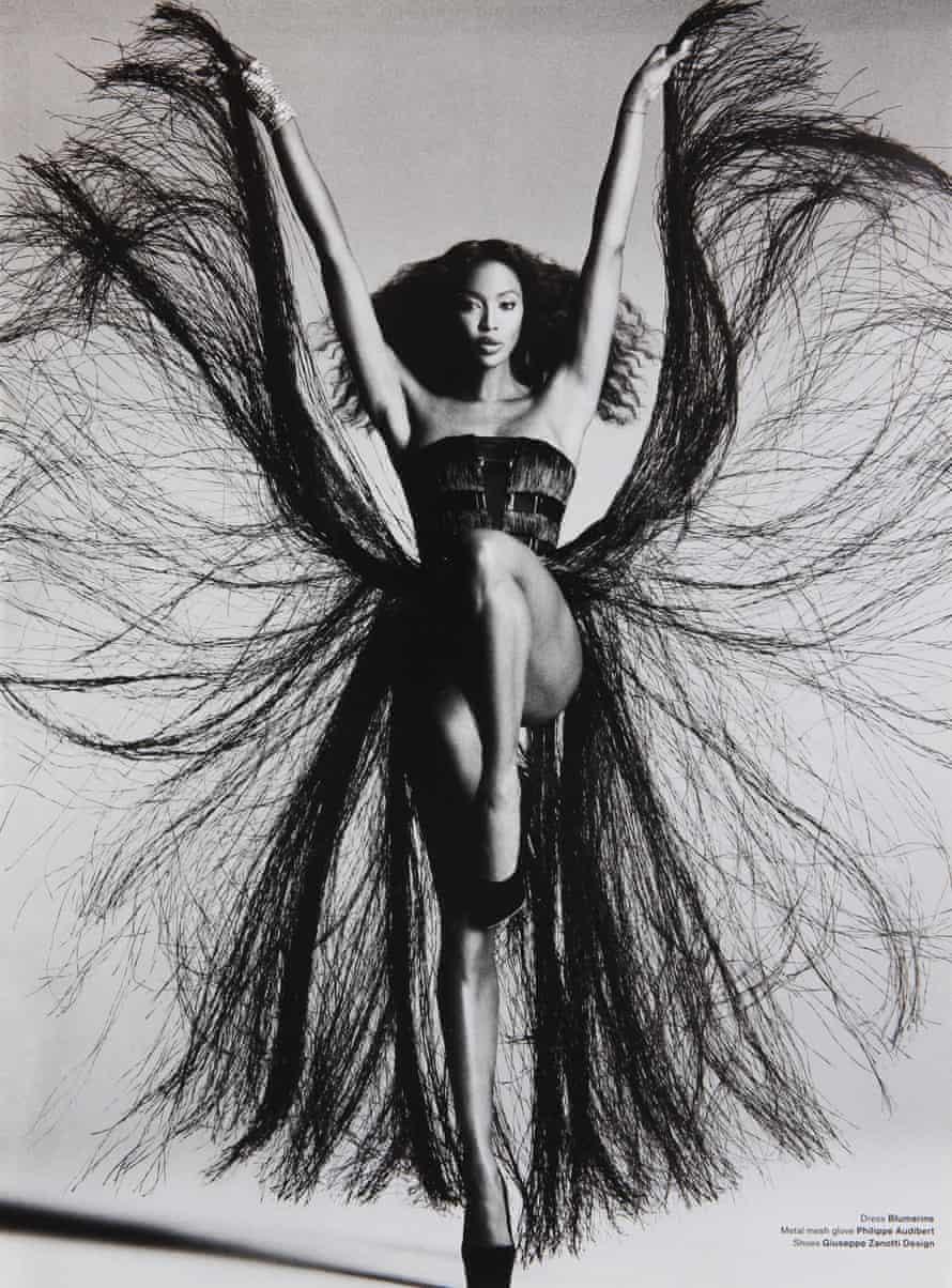 Naomi Campbell shot for V Magazine, USA, February 2012