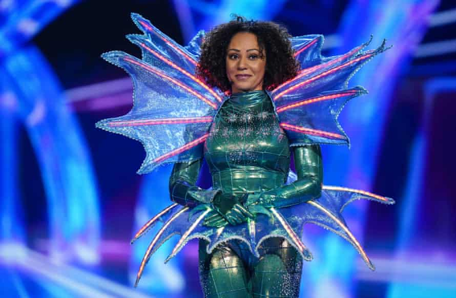 Mel B has been unmasked as Seahorse on The Masked Singer, UK series two.