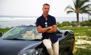 Jacques Peretti tries to mingle with the movers and shakers of the Caymans.