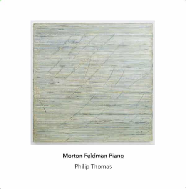Morton Feldman: Piano album art work