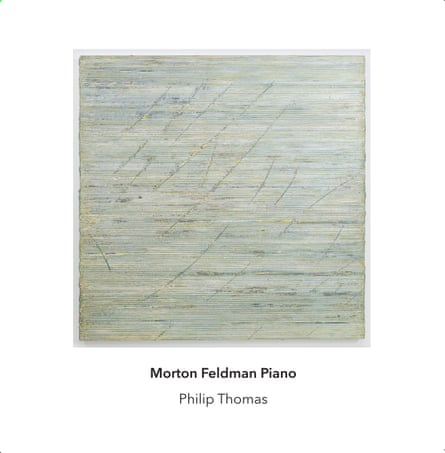 Morton Feldman: Piano album art work