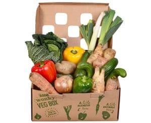 Asda wonky veg box