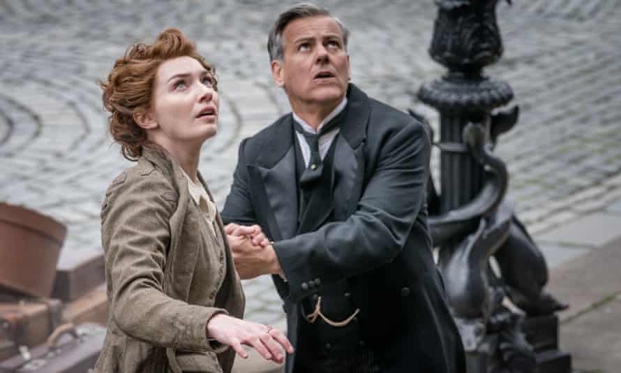 Apocalypse wow ... Amy (Eleanor Tomlinson) and Frederick (Rupert Graves) in War of the Worlds.
