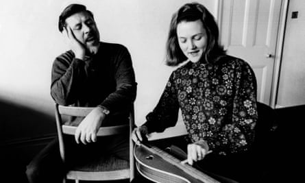 Purist approach … Ewan MacColl and Peggy Seeger in 1965.