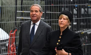 Lord and Lady Brittan pictured in 2013