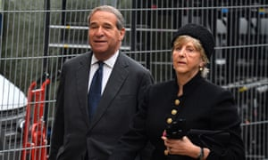 Lord and Lady Brittan pictured in 2013.