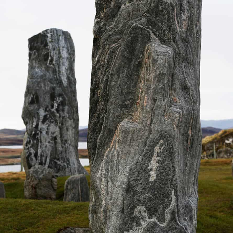 The 5,000-year-old Calanais standing stones circle.
