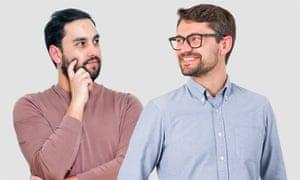 Gustavo (left) and Bryan