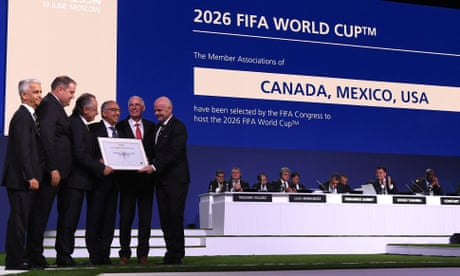da1526ecf North America to host 2026 World Cup after winning vote over Morocco ...
