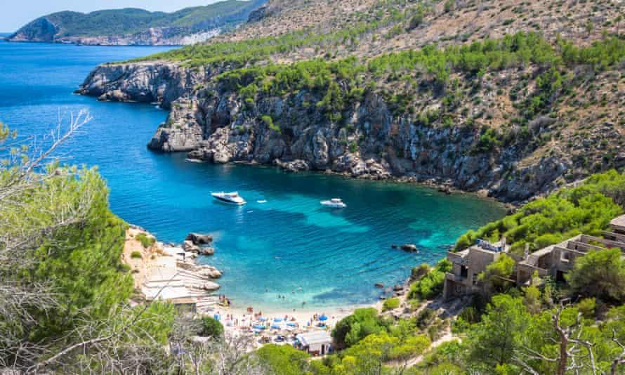 Ibiza Punta de Xarraca turquoise beach