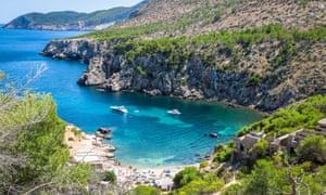 The green manifesto covers Ibiza (pictured), Majorca, Menorca and Formentera.