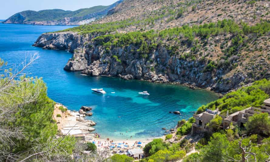The green manifesto covers Ibiza (pictured), Majorca, Menorca and Formentera.