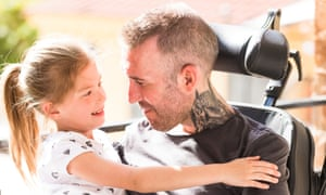 Fernando Ricksen, pictured last year with his daughter Isabella.