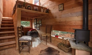 Little gem: a tiny house built by Plymouth University students.