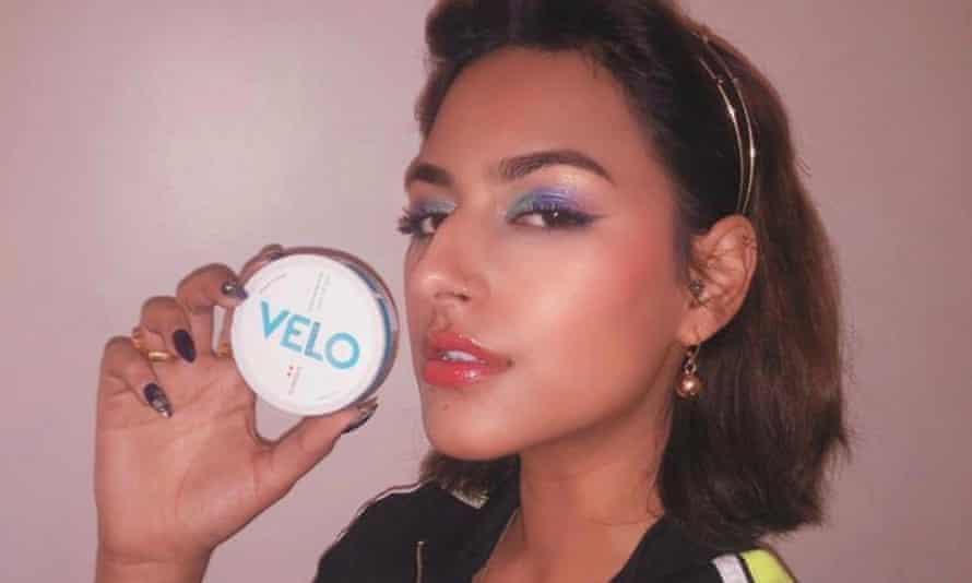 An influencer in Pakistan in a paid partnership for Velo.