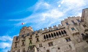 Buonconsiglio Castle, in Trento city centre.