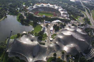 A general view of the Olympic Stadium in Munich, Germany