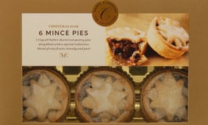 Marks & Spencer mince pies