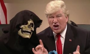 Alec Baldwin revived his spoof of Donald Trump on Saturday Night Live.
