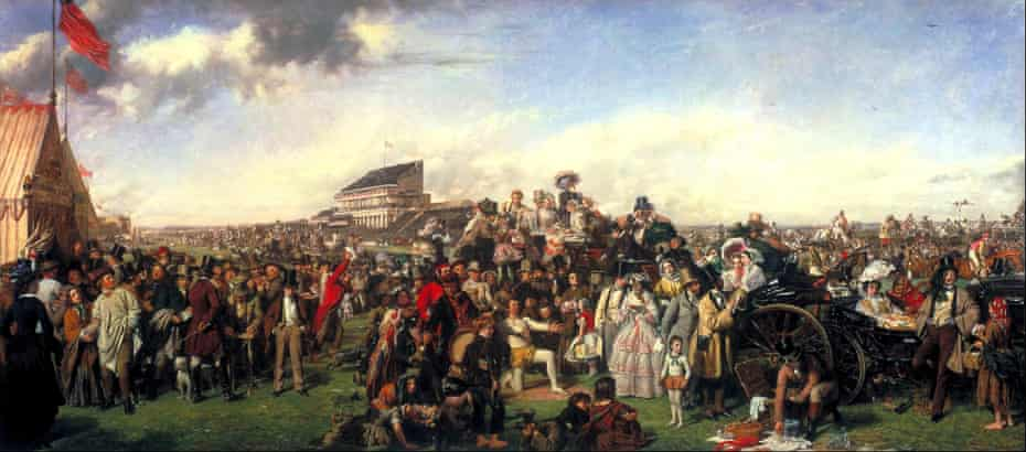 The Derby Day, 1856-8, by William Powell Frith