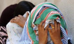 Sri Lankan asylum seekers sent back by Australia in July 2014.