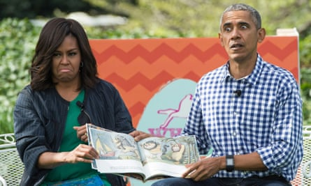 President Obama and First Lady Michelle dramatically read Where The Wild Things Are