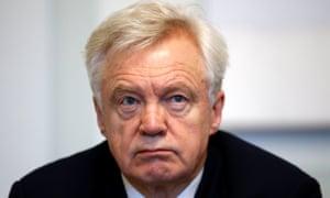 Former Brexit secretary David Davis