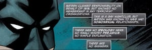 Detail from Batman's appearance in Love is Love.