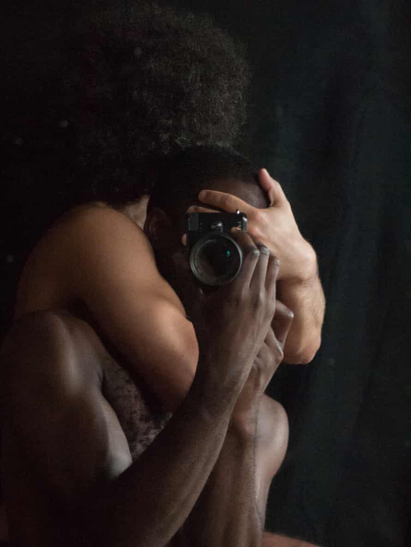 About photography itself … Sepuya's Darkroom Mirror ( 2070386), 2017.