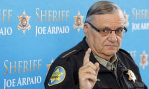 Joe Arpaio speaks at a news conference on 18 December 2013.
