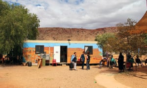 The Larapinta Valley town camp is one of the largest and best equipped in Alice Spring, Australia, but is still not up to subdivision standard, says Walter Shaw, the chief executive of Tangentyere council.