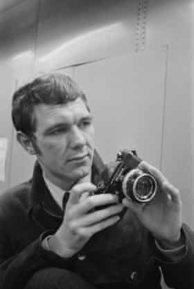 John Downing in 1968, at the start of his long career at the Daily Express.