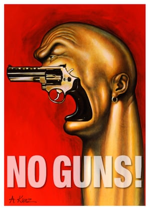 Anita Kunz, No Guns, 2012