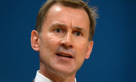 Jeremy Hunt said he expected the UK to quite the EMA after Brexit.