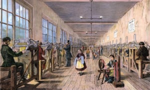 One Of Robert Owen's model textile mills in Tewkesbury, Gloucestershire, in the 1840s. Harrison's book on Robert Owen set new standards of scholarship and analysis for labour historians