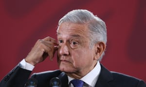 President Andrés Manuel López Obrador speaks during a press conference in Mexico City on Wednesday.