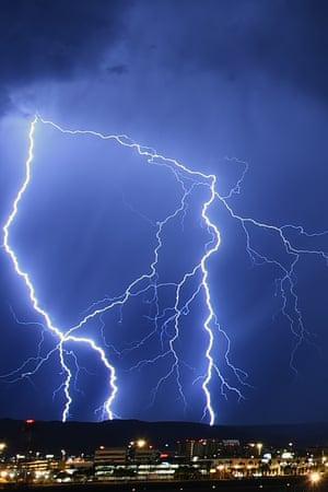 las vegas storms