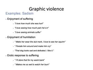 Graphic Violence 6