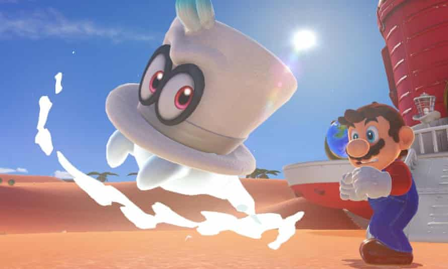 Super Mario Odyssey for Nintendo Switch.