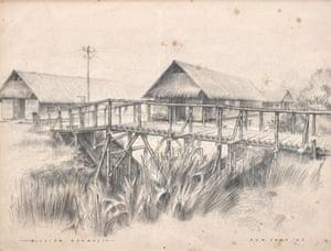 Havelock Road Camp, Singapore 1942.