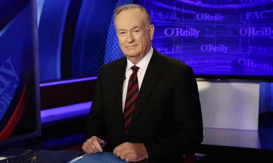 Bill O'Reilly hosting The O'Reilly Factor on Fox News