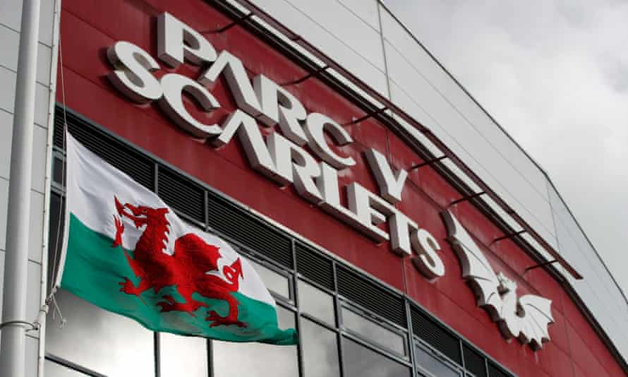 Parc y Scarlets in Llanelli where England play Wales on Saturday.