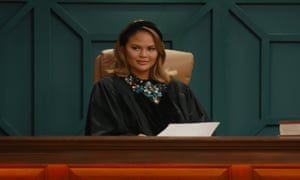 A still of Chrissy Teigen in Chrissy's Court on Quibi.
