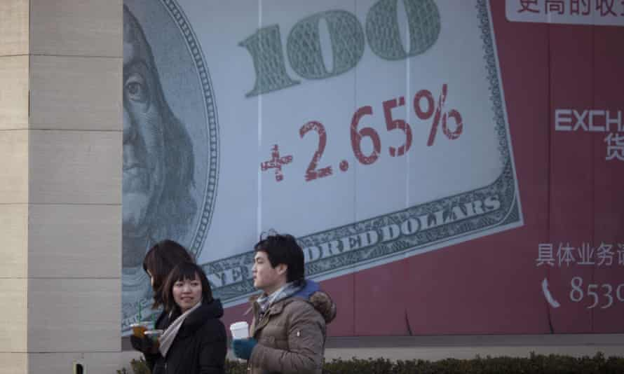 This week's plunge in Chinese stocks has been fuelled by concern that Beijing is letting China''s currency, the yuan, weaken too fast against the US dollar.